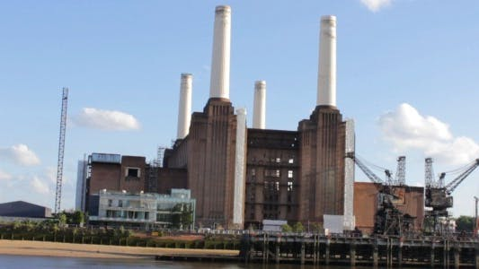 Thumbnail for Battersea Station upon Thames River
