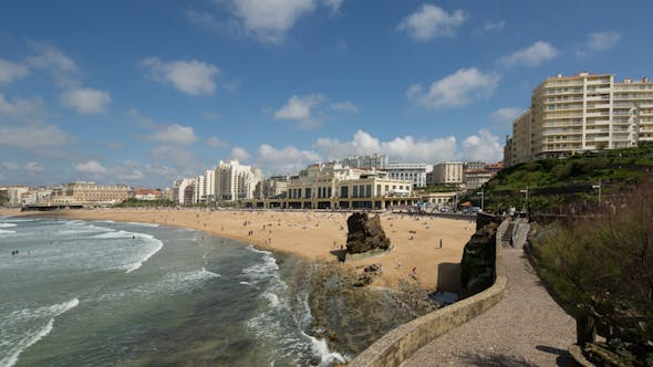 Cover Image for Biarritz France City Surfers Sea 14