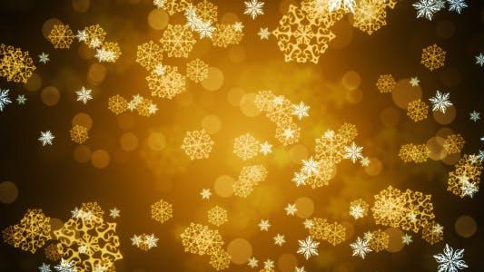 Thumbnail for Golden Snow Flakes