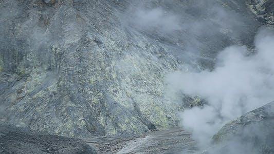 Thumbnail for Tangkuban Perahu Volcanic Crater 06
