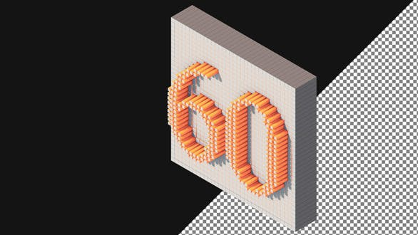 Thumbnail for Voxel Isometric Countdown