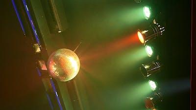 Disco Ball in the Club