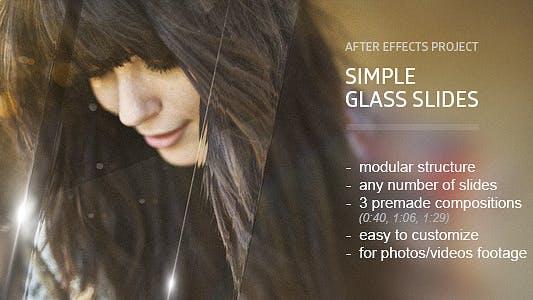 Diapositivas de cristal