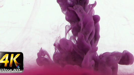 Thumbnail for Colorful Paint Ink Drops Splash in Underwater 20
