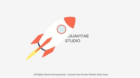 Thumbnail for Startup Rocket Logo