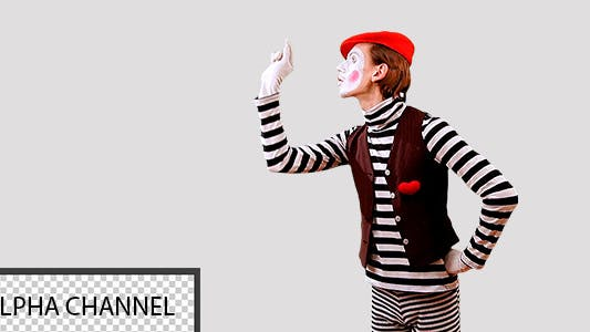 Thumbnail for Mime Works With the Virtual Screen 2