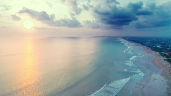 Thumbnail for Beautiful Sunset Over The Ocean