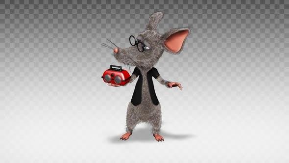 Cartoon Rat - Show  Music Player