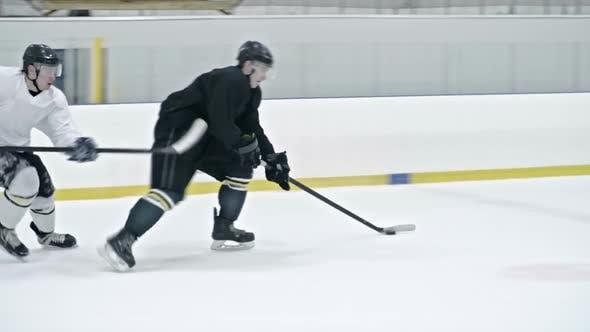Thumbnail for Hockey Forward Scoring Goal