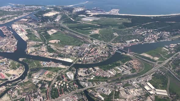 Thumbnail for Take off from Gdansk airport