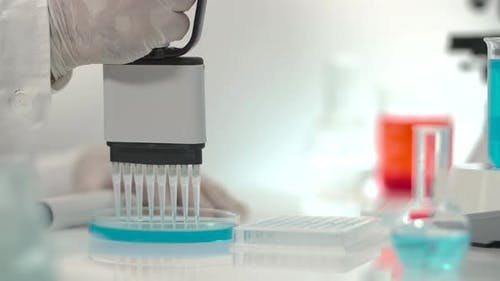 Multi Channel Pipetting