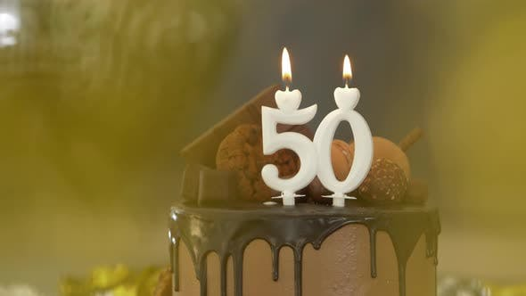 Thumbnail for 50th Birthday Chocolate Cake