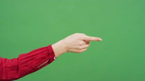 The arguing gesture