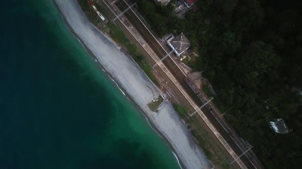 Thumbnail for Railway on the Seashore
