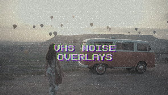 Vhs Noise Overlays