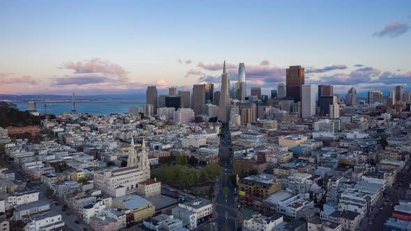 Cover Image for San Francisco Skyline 4K
