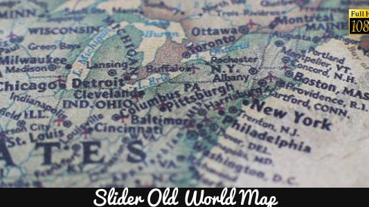 Thumbnail for Old World Map 2