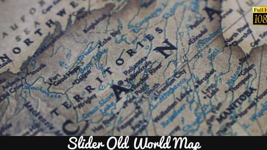 Cover Image for Old World Map 4
