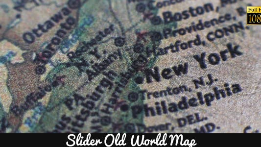 Thumbnail for Old World Map 5