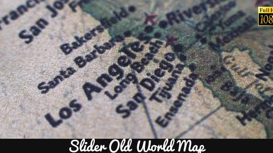 Thumbnail for Old World Map 6