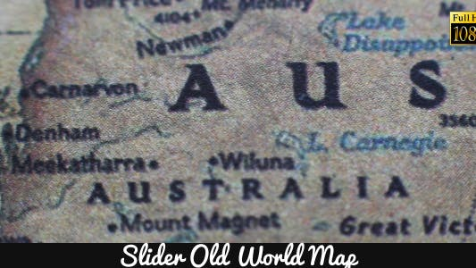 Thumbnail for Old World Map 8
