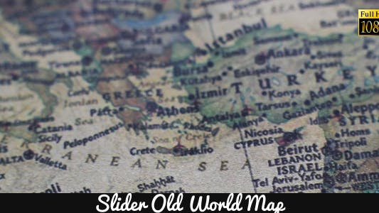 Thumbnail for Old World Map 9