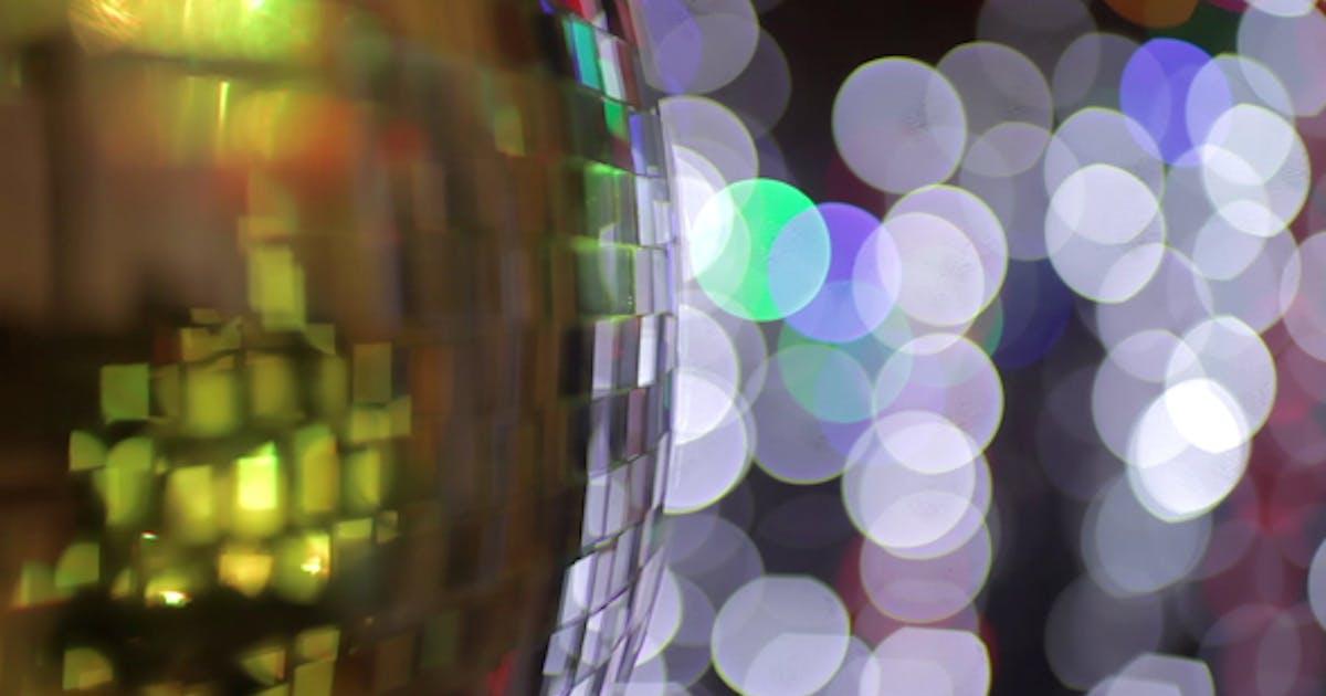 Disco Ball Light Effect 10