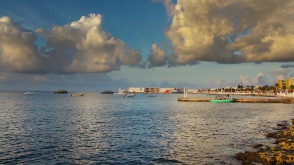 Sunset Caribbean Beach