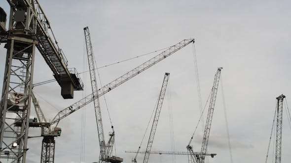 Thumbnail for Crane With Sky