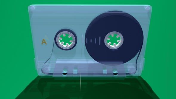 Thumbnail for Cassette 3d Green