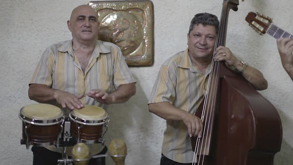 Thumbnail for Cuban Music Band Playing Havana Cuba 10