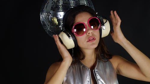 Sexy Female Dancing With Headphones 5