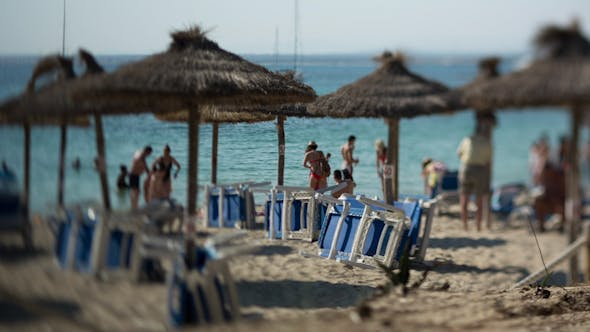 Thumbnail for Deckchairs Beach Vacation Travel Holidays 1