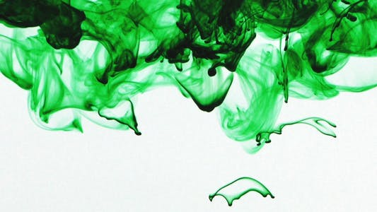 Cover Image for Colorful Paint Ink Drops Splash in Underwater 25