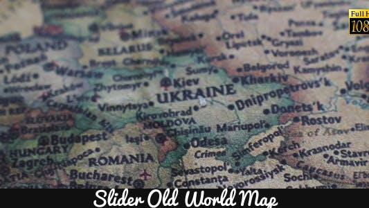Cover Image for Old World Map 10