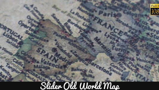 Thumbnail for Old World Map 11