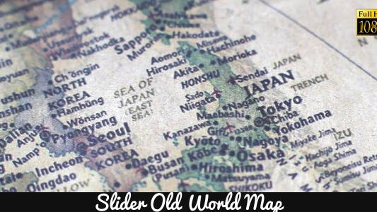 Thumbnail for Old World Map 12