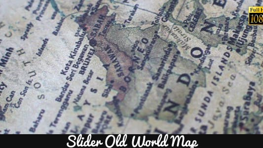 Thumbnail for Old World Map 13