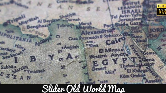 Thumbnail for Old World Map 15