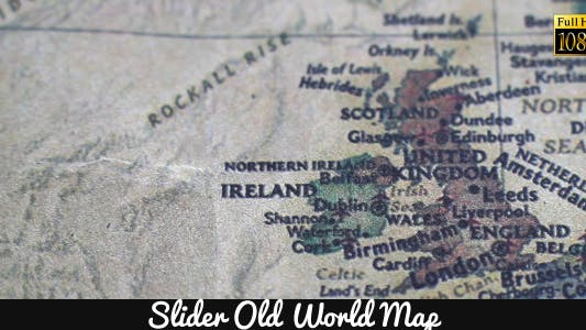Thumbnail for Old World Map 16