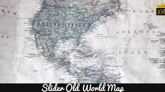 Thumbnail for Old World Map 17