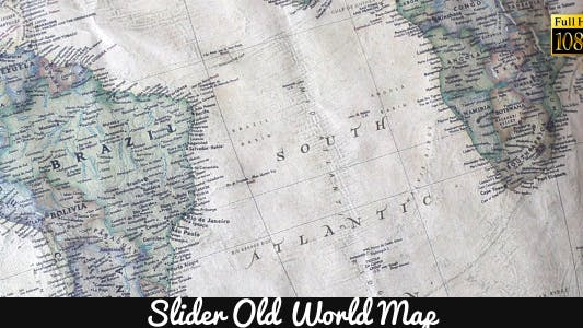 Thumbnail for Old World Map 18