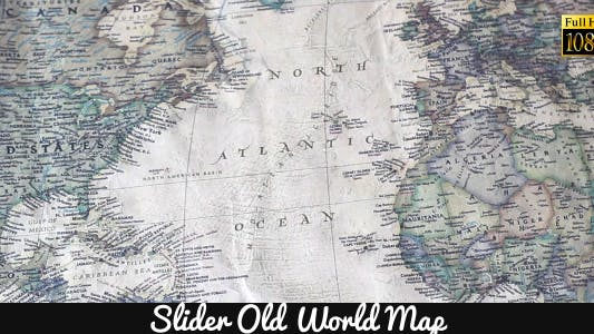 Thumbnail for Old World Map 19