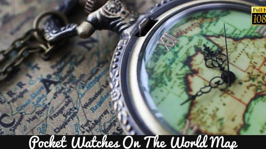 Cover Image for Pocket Watches On The World Map