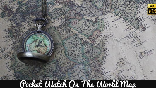 Thumbnail for Pocket Watches On The World Map 3