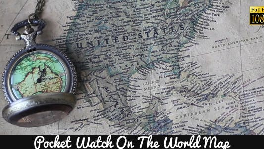 Thumbnail for Pocket Watches On The World Map 4