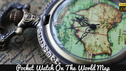 Thumbnail for Pocket Watches On The World Map 5