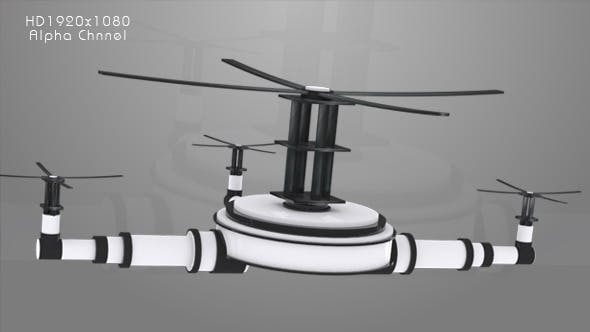Television - Drone Animation
