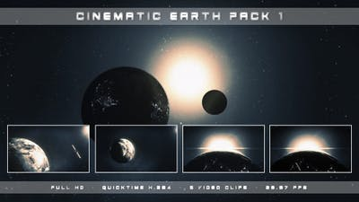Cinematic Earth Pack