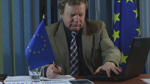 Europäischer Geschäftsmann